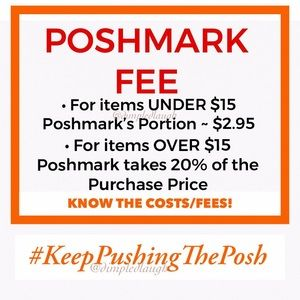 KNOW The FEES & the COST! THEN #KeepPushingThePosh